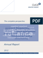 OeKB Group Annual Report 2012