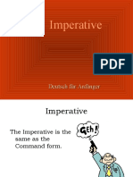Imperativ Learn German Aprender Aleman