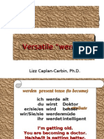Werden Learn German Aprender Aleman