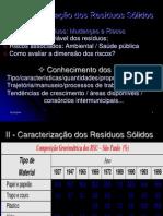 Caracterização de Residuos Solidos Urbanos.ppt