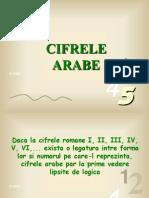 f Cifrele Arabe