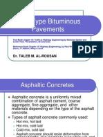 7-I High-Type Bituminous Pavements
