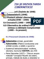 Cursul 1 Apariţia Şi Dezvoltarea Ciberneticii (1)