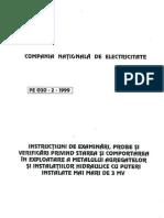 Prescriptie Energetica PE 030-2-1999