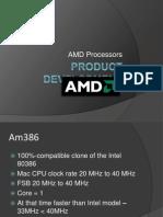 AMD Project Development