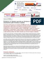[Revista PnP] Mudança no registro permite ao Windows XP continuar atualizando pelo Windows Update.pdf