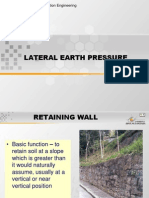 Lateral Earth Presuure