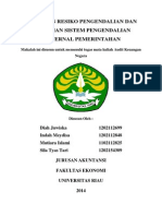 PENILAIAN RESIKO PENGENDALIAN DAN PENGUJIAN SISTEM PENGENDALIAN INETERNAL PEMERINTAHAN.docx