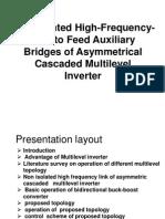 high fq link of asymetry inverter model.ppt