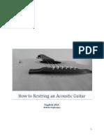 How to Restring an Acoustic Guitar Nicholas Ongkowijaya