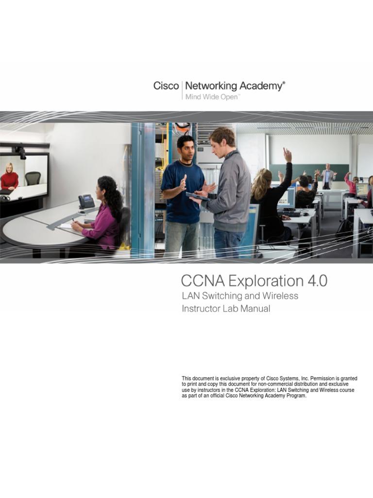 132504905 lab manual for ccna 3 instructor version cisco rh scribd com Ultrasound Lab Instructor scaling networks instructor lab manual