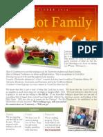Oct 2014 Newsletter