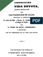 Introduccion a La Vida Devota-Francisco de Sales