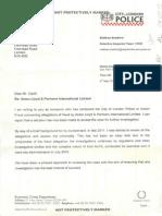 12 05 04 ALPonz DI Matt Bradford's promise not to investigate any of my unrebuttable evidence of a Ponzi scheme