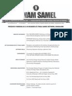 Sonam Samel Resume