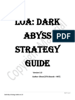 Dark Abyss Strategy Guide