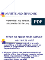 Arrests, Inquest, Pi, Search