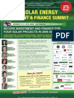 North AmericA's Premier SolAr iNvestmeNt and FiNANce CoNFereNce is bAck!