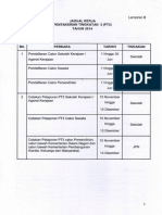 Jadual Kerja PT3 2014