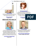 Pace Public Relations Full Client List