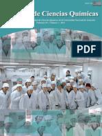 VOL 10 NUM 1 AÑO 2012 - REVISTA FAC CIENCIAS QUIMICAS - PARAGUAY - PORTALGUARANI
