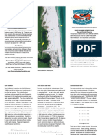Navarre Beach Marine Sanctuary Brochure