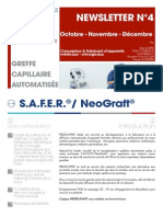 FR - Newsletter N°4 Juillet - Octobre - Novembre - Décembre  2014