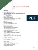 I GIORNALI ITALIANI ALL'ESTERO