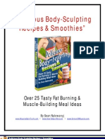 Body Sculpting Recipes