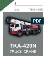 TKA Guindastes - Catalogo TKA-420N