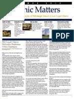 Clinic Matters Newsletter 2010
