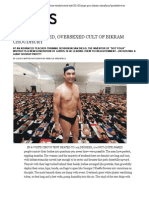 The Overheated, Oversexed Cult of Bikram Choudhury - Details Magazine 2/2011