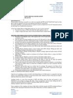 Au Sale Procedures - May 2009