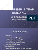 Leadership & Team Building