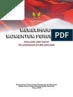 Buku Evaluasi RPJMN 2005-2009 Part6
