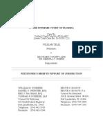 Telli Jurisdictional Brief (Florida Supreme Court)