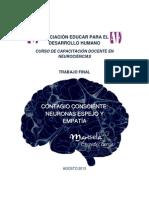 Contagio Consciente Neuronas Espejo y Empatía - Marisela Céspedes García.pdf