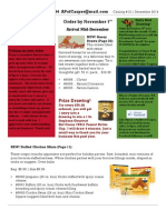 #12 December 2014 Newsletter