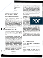 [SEC] Regulation of Clearing Agencies
