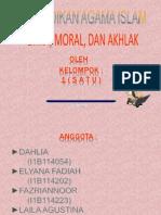 Etika, Moral, Dan Akhlak 2