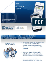 I Estudio IDoctus SEMG Hábitos Digitales Médico Español