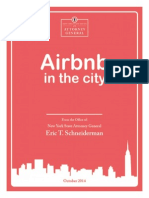 NY Attorney General's Airbnb Report