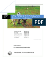 EMEP08_EE_TermPaper_WTO Agreement on Agriculture_Strategies for Indias Succes