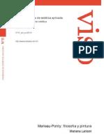 Merleau-Ponty- Philosophy and Painting