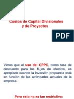 Costos de Capital Divisionales.pptx