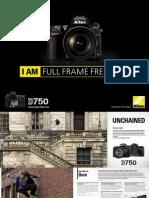 Nikon 750D