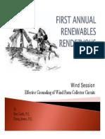 Ben Guth and Doug Jones - Wind Farm Grounding