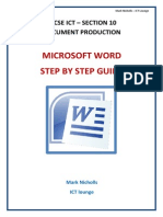 Document Production Step by Step Booklet IGCSE