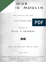 Deodat de Severac - Le Coeur Du Moulin