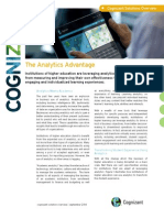 Education Analytics in Education Solutions